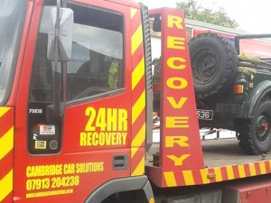 Our Roadside & Accident Recovery Services