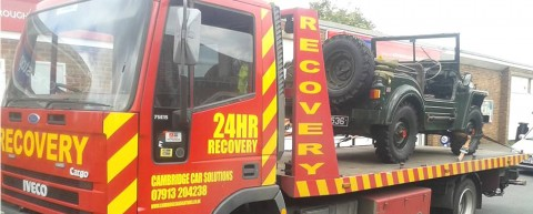 Roadside Recovery Services Cambridgeshire
