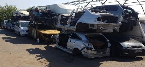 image of car scrappage in Norfolk